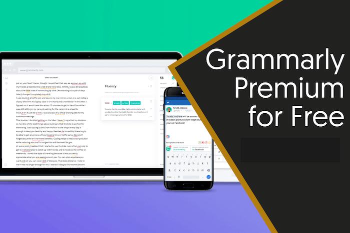 Grammarly premium gratis