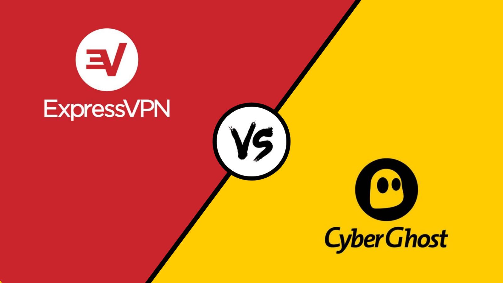 Express VPN VS CyberGhost