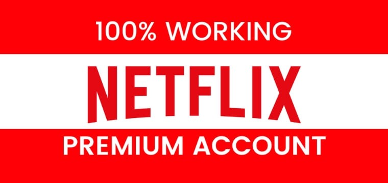 Cuentas premium de Netflix