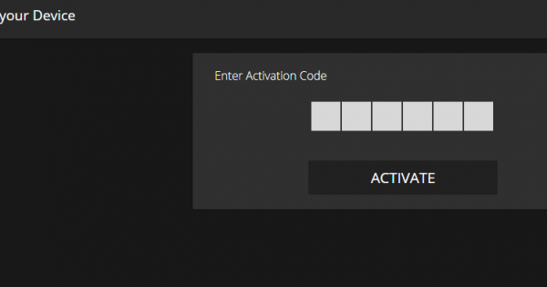 PLuto TV activation code