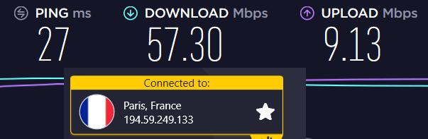 cyberghost France Server