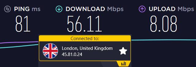 cyberghost United Kingdom Server