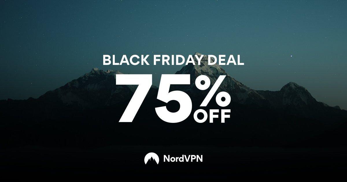 Black Friday deal 75% off