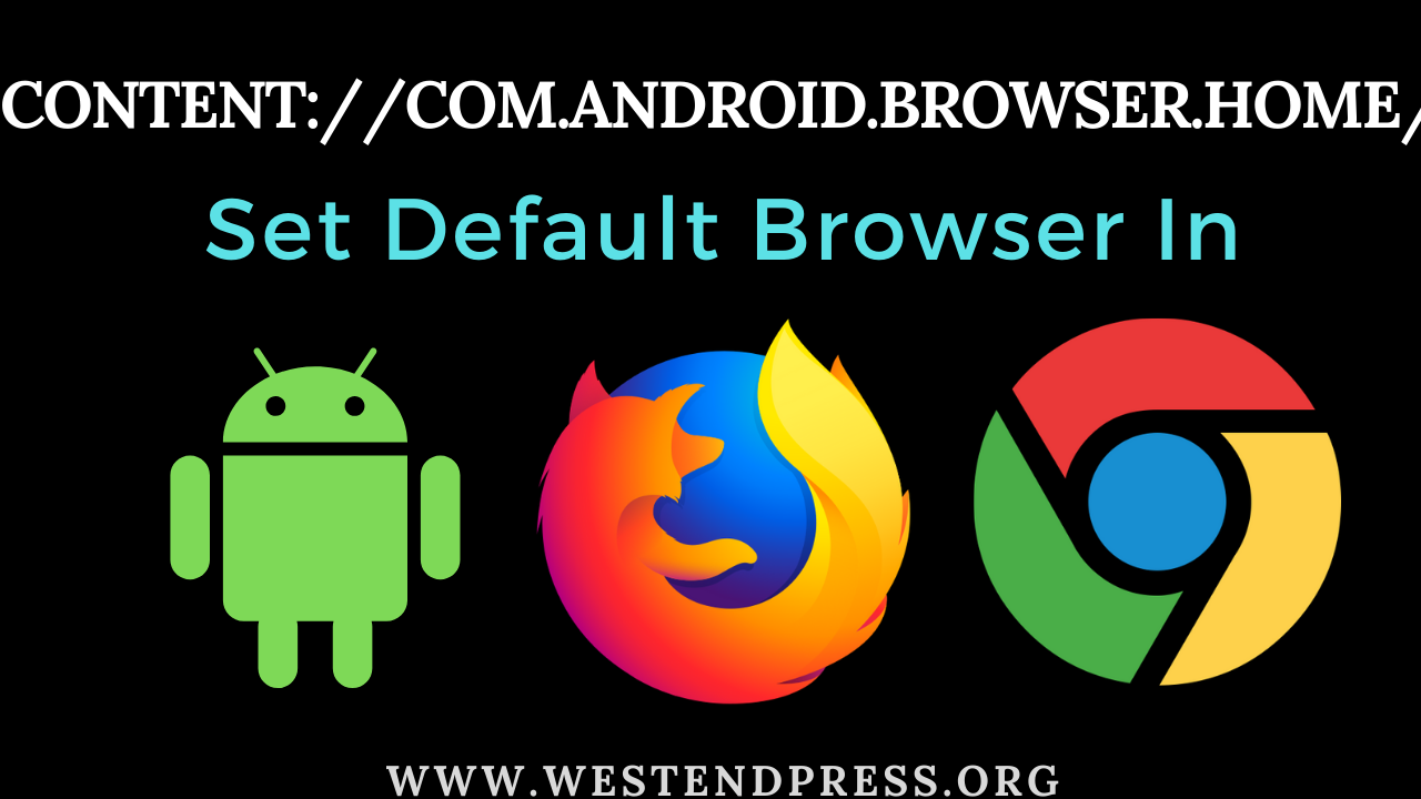Content://com.android.browser.home/ - Set Homepage