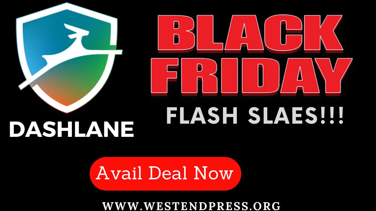 Black Friday flash sales Dashlane
