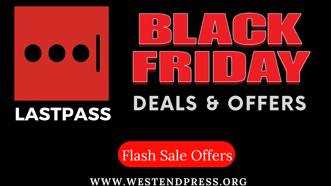 LastPass black friday sale