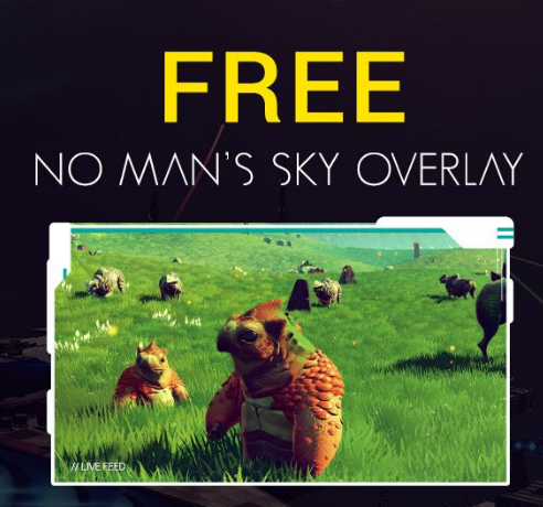 No Man's Sky Overlay (Nerd or Die)