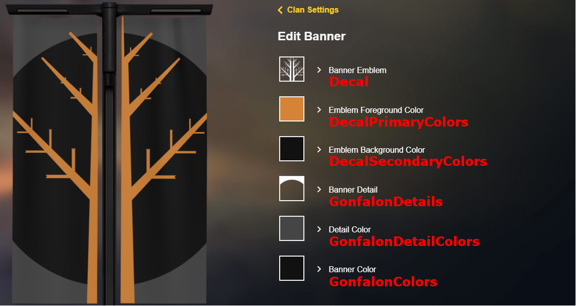 Coolest banner options for clans in Destiny 2
