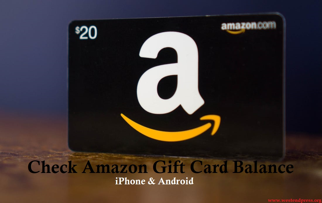 Check amazon gift card balance