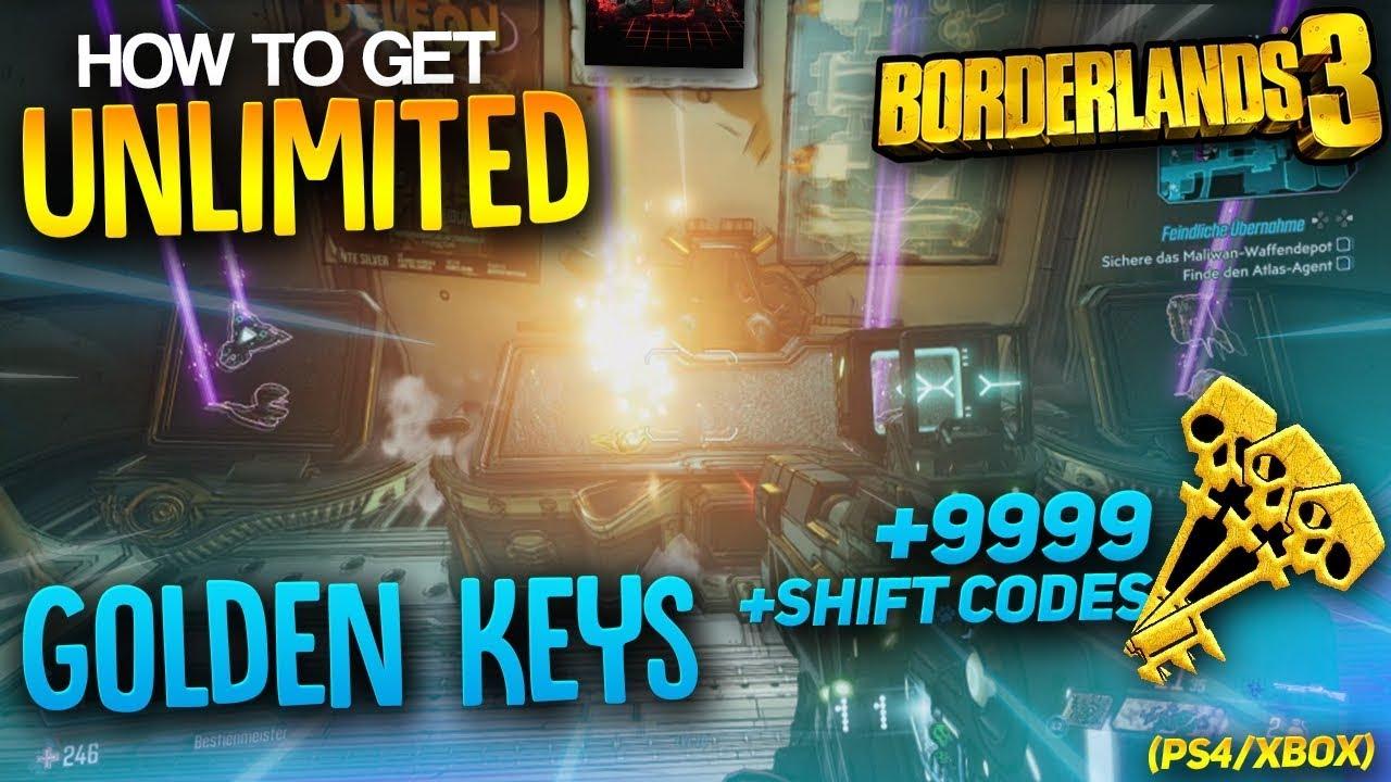How to get unlimited golden keys in borderland 3