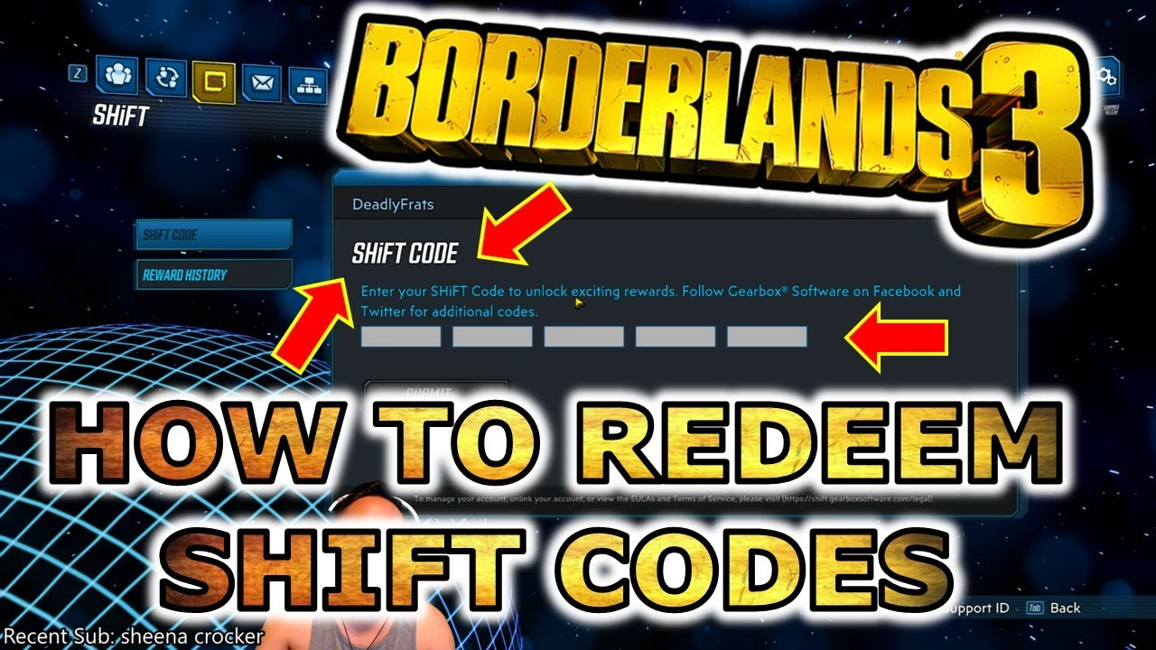 How to redeem shift codes in Borderland 3