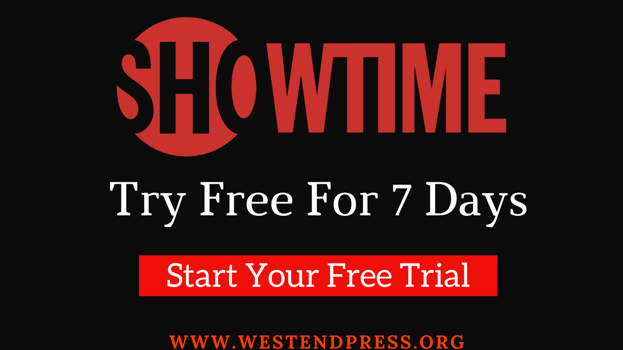 Showtime free trial for 7days