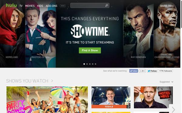 Programs for Showtime anytime free trial