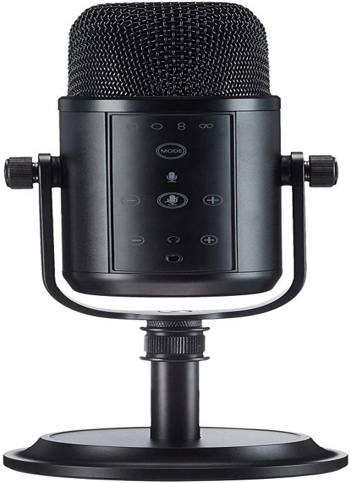 AmazonBasics Professional USB Condenser Microphone – Black