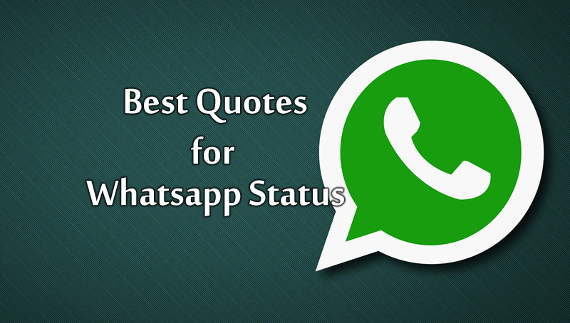 Best quotes for WhatsApp status