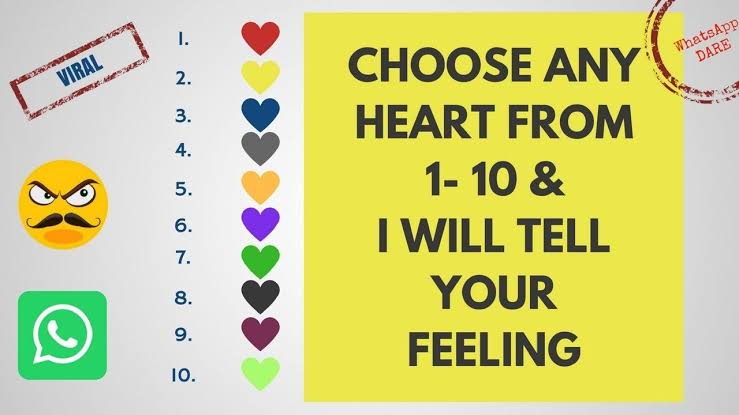 Choose a heart game