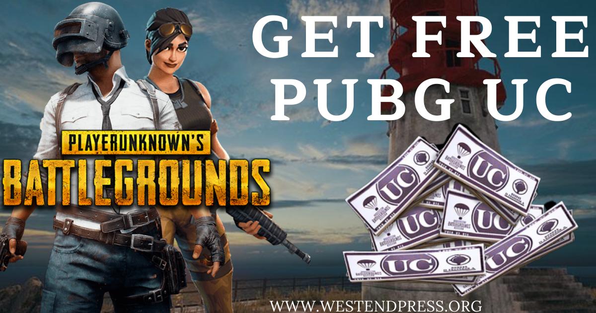 Get free PUBG UC