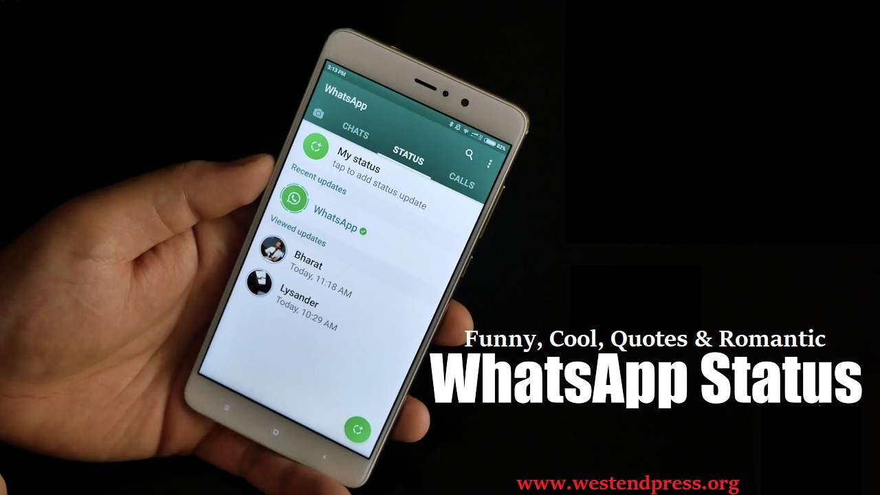 Funny, cool, romantic WhatsApp status