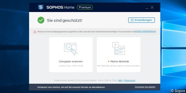 Sophos Free Antivirus and Security