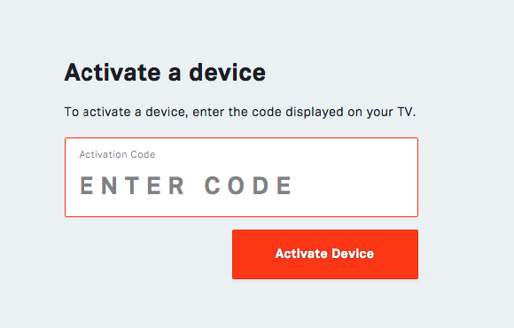 Tubi TV activate device