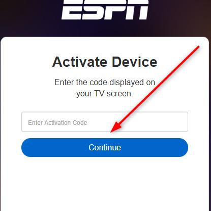ESPN activate device