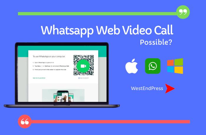 Whatsapp Web Video Calling