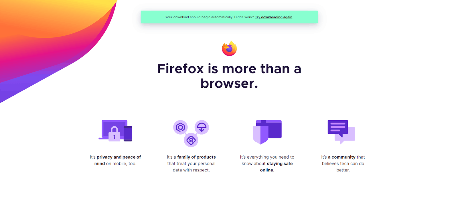 Firefox official website