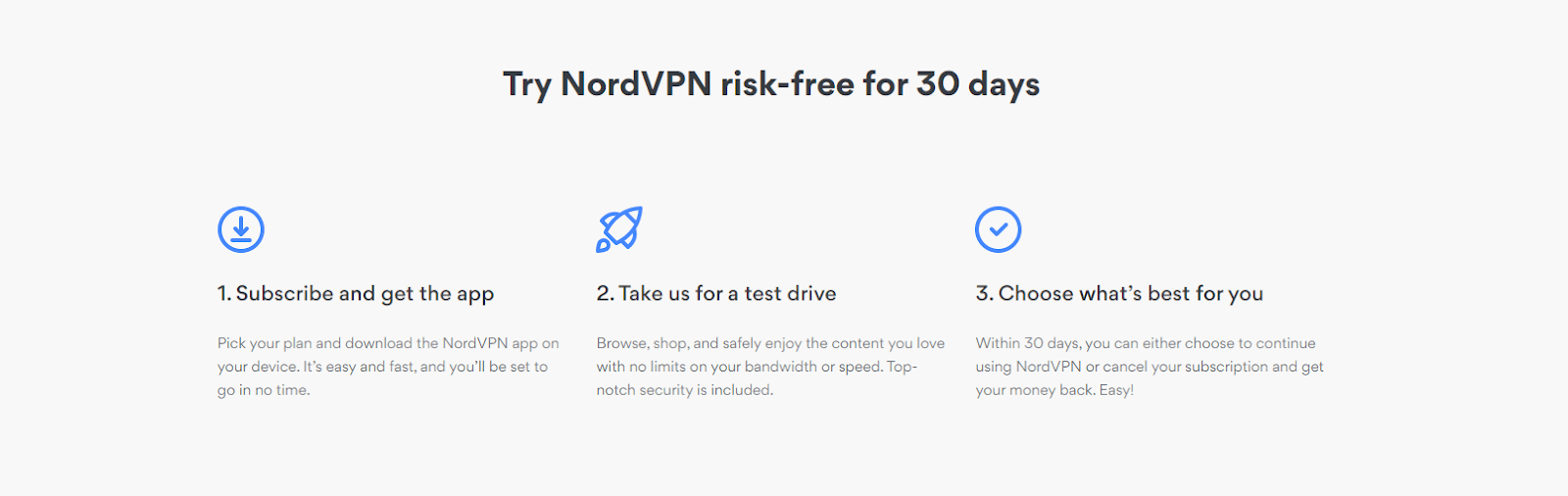 Try Nord VPN risk-free for 30 days