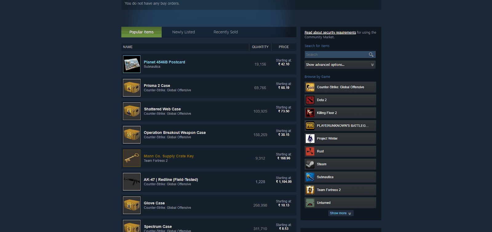 Steam servers